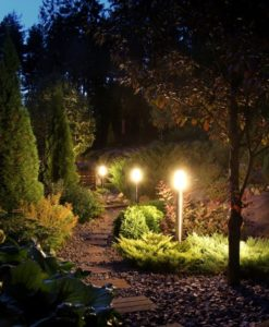 how to get started with landscape lights lit professional lighting