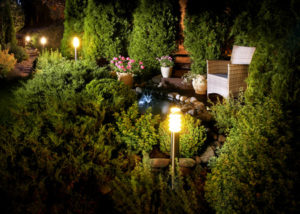 Conroe Landscape Lighting