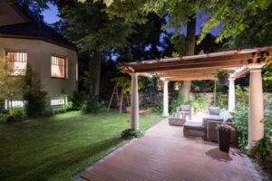 landscape lighting in conroe