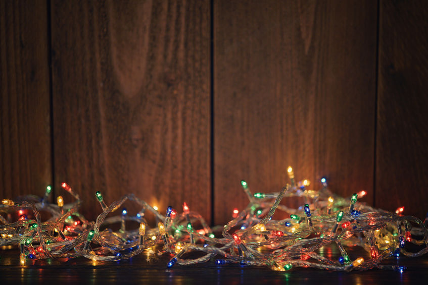 how to set up christmas lights