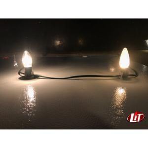 Incandescent vs LED C9