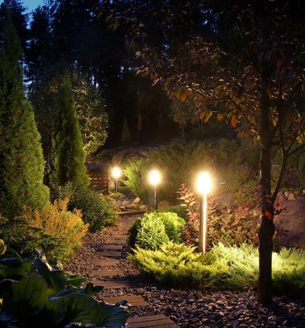 Landscape Light Installation