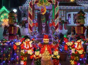 Christmas Lights Display in Conroe
